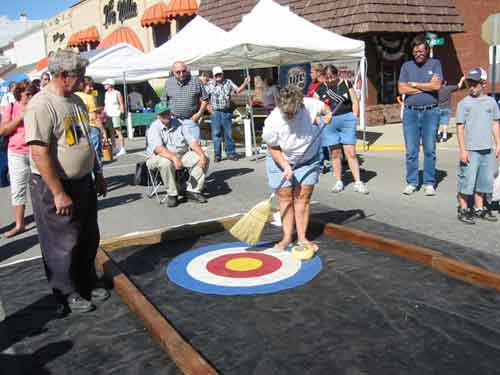 International Cheese Curling