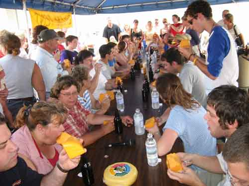 national cheese eating contest